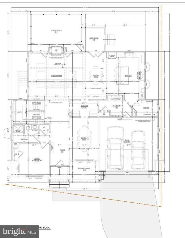 Main Level Floorplan - 2103 GREENWICH ST, FALLS CHURCH
