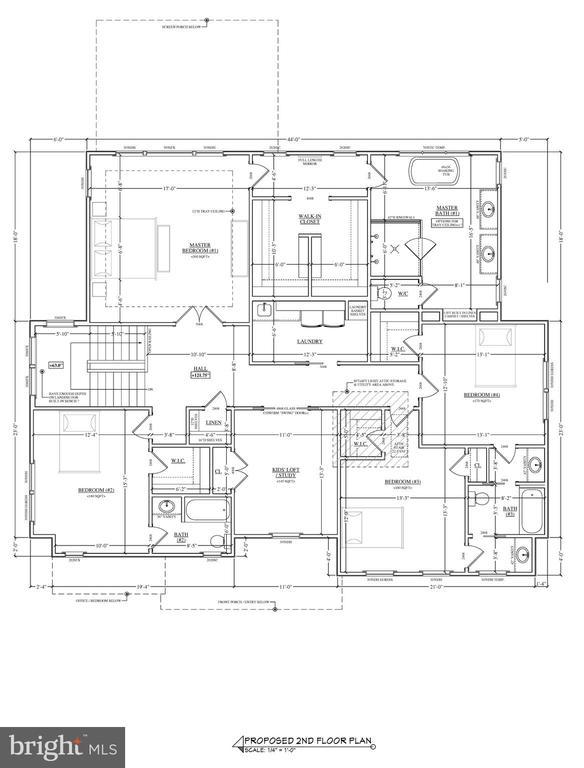 Upper Level Floorplan - 2103 GREENWICH ST, FALLS CHURCH