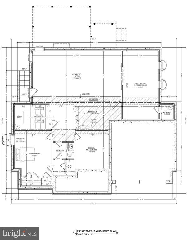 Lower Level Floorplan - 2103 GREENWICH ST, FALLS CHURCH