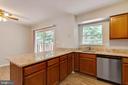 Kitchen with new flooring & Granite Counters - 15305 INLET PL, DUMFRIES