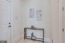 Convenient mud room between garage and kitchen - 1061 MARMION DR, HERNDON