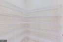 Huge pantry off of kitchen - 1061 MARMION DR, HERNDON