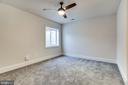 Lower level bedroom - 1061 MARMION DR, HERNDON