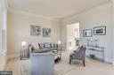 Parlor or formal living room - 1061 MARMION DR, HERNDON