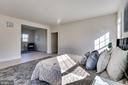 Sitting area in master bedroom suite - 1061 MARMION DR, HERNDON