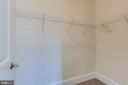 2nd bedroom walk-in closet - 1061 MARMION DR, HERNDON
