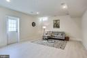 Lower level walk-out - 1061 MARMION DR, HERNDON