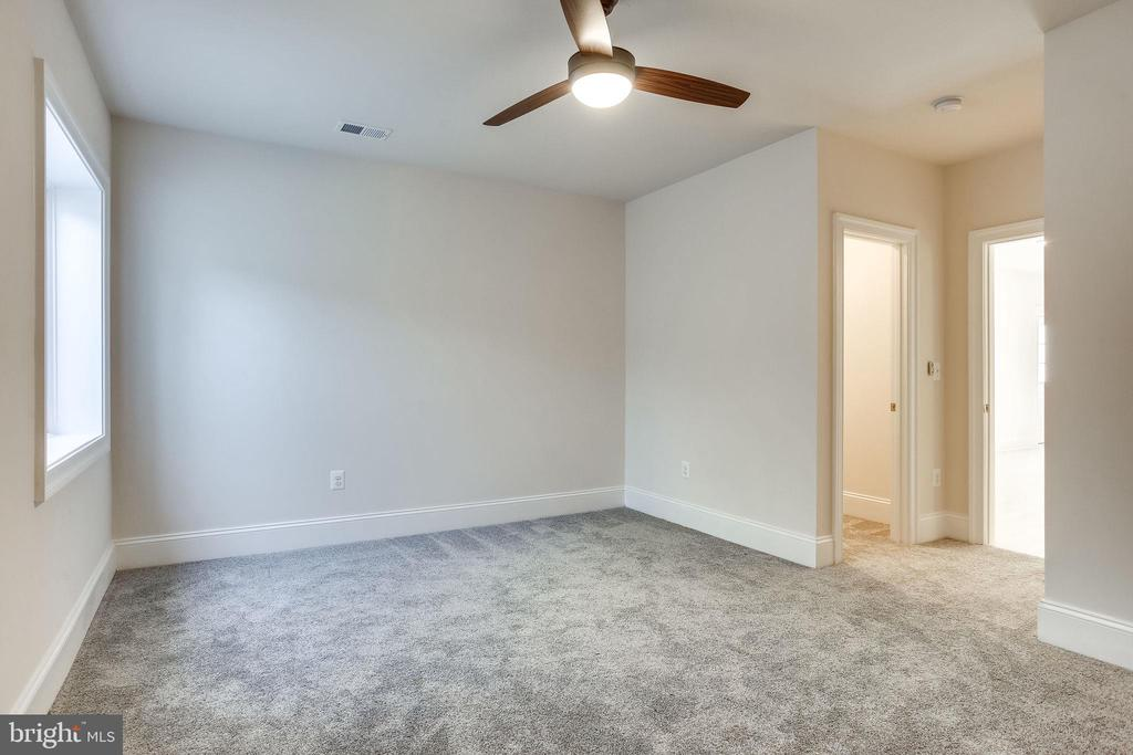 Plenty of light in lower level 6th bedroom - 1061 MARMION DR, HERNDON