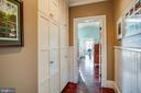 Great storage in the upper hallway - 604 HAWKE ST, FREDERICKSBURG