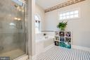 Master Bathroom - 604 HAWKE ST, FREDERICKSBURG