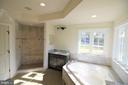 Luxurious Soaking Tub in Master Bath - 9903 MOSBY RD, FAIRFAX