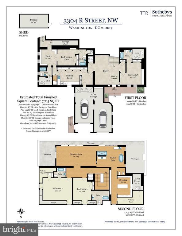 Floor Plan - 3304 R ST NW, WASHINGTON