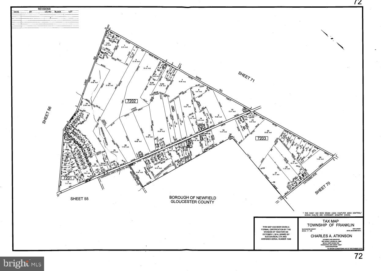 Земля для того Продажа на Newfield, Нью-Джерси 08344 Соединенные Штаты