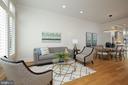 Open Floor Plan, Living, dining room & kitchen - 419 GUETHLER'S WAY SE, WASHINGTON