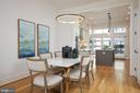 Open Floor Plan= Dining Room + Gourmet Kitchen - 419 GUETHLER'S WAY SE, WASHINGTON