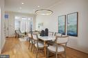 Entertaining Dining Room leading to Living Room - 419 GUETHLER'S WAY SE, WASHINGTON