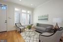 Living Room, w/ high ceilings, recessed lighting. - 419 GUETHLER'S WAY SE, WASHINGTON