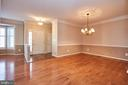 Hardwood floors - 5642 WHEELWRIGHT WAY, HAYMARKET