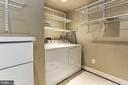 LOWER LEVEL WASHER AND DRYER - 201 LONG TRAIL LN, ROCKVILLE