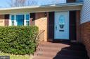 Lovely front door - 6424 MERIWETHER LN, SPRINGFIELD