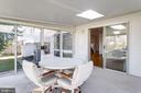 Sun room w/ sky light - 6424 MERIWETHER LN, SPRINGFIELD