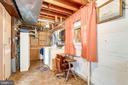 Work/storage room - 6424 MERIWETHER LN, SPRINGFIELD