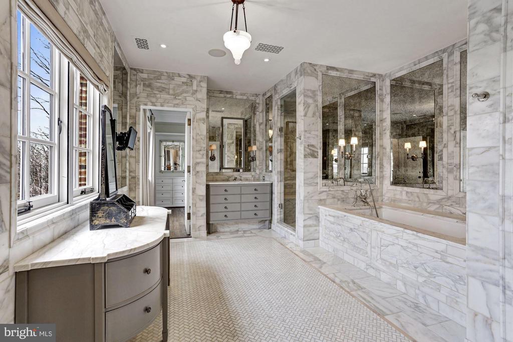 Master Bathroom - 6699 MACARTHUR BLVD, BETHESDA
