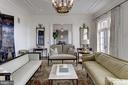 Living Room - 6699 MACARTHUR BLVD, BETHESDA