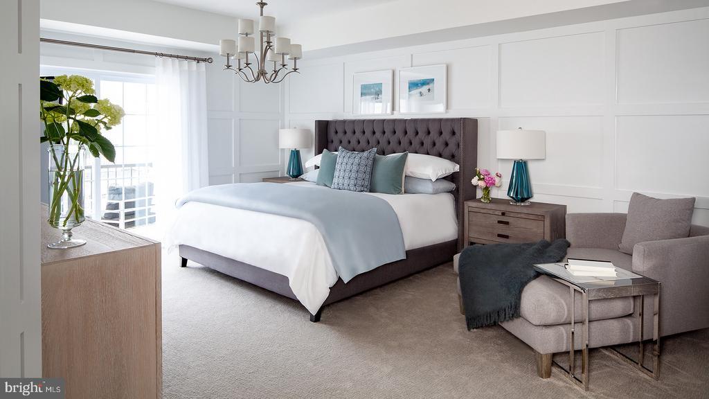 Hayes Contemporary Master Bedroom - 43184 MONGOLD SQ, ASHBURN
