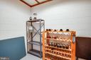Lower Level Wine Storage - 7400 BROWNS FARM RD, SPOTSYLVANIA