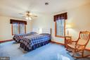 Upper Level Guest Room - 7400 BROWNS FARM RD, SPOTSYLVANIA
