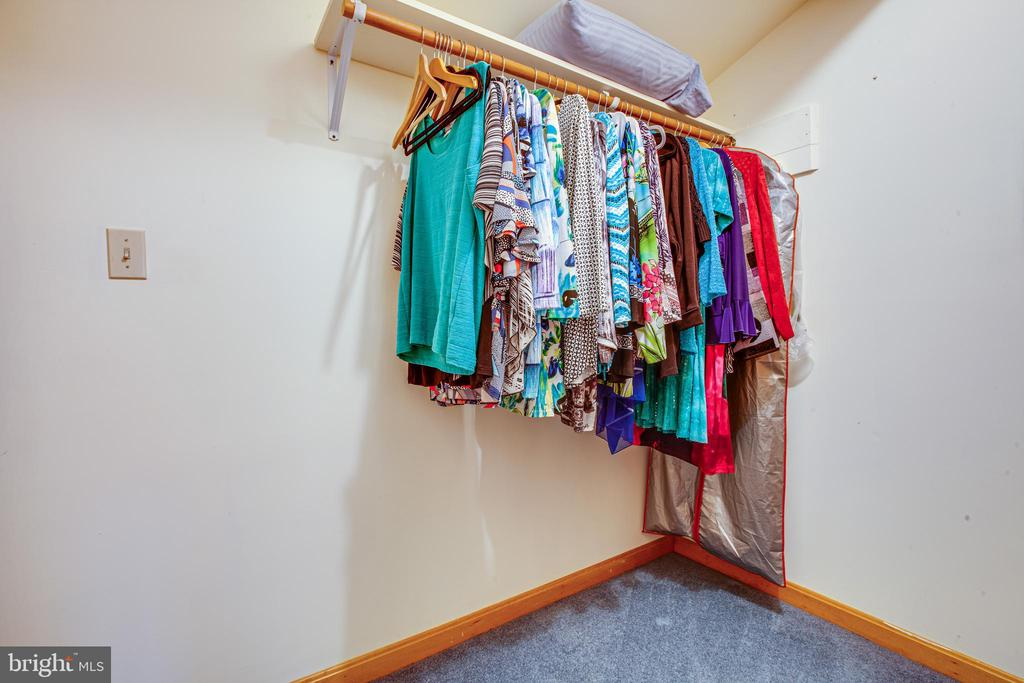 Walk-In Closet in Guest Room - 7400 BROWNS FARM RD, SPOTSYLVANIA