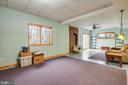 Lower Level Rec Room - 7400 BROWNS FARM RD, SPOTSYLVANIA