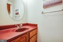 Main Level Powder Room - 7400 BROWNS FARM RD, SPOTSYLVANIA