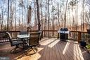 Deck off the Kitchen - 7400 BROWNS FARM RD, SPOTSYLVANIA
