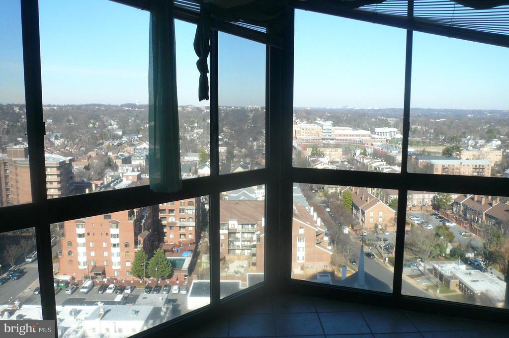 Balcony View, views include National Cathedral - 900 N STAFFORD ST #2015, ARLINGTON