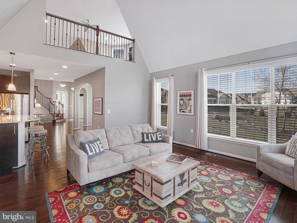 Cathedral ceilings with fresh paint - 2952 MILL ISLAND PKWY, FREDERICK