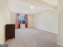 Bedroom 4 in the walkout basement - 2952 MILL ISLAND PKWY, FREDERICK