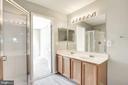 Second full bathroom - 20387 BIRCHMERE TER, ASHBURN