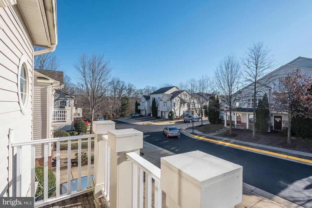 View from balcony - 20387 BIRCHMERE TER, ASHBURN