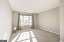 The master bedroom can accommodate a king bed - 20387 BIRCHMERE TER, ASHBURN