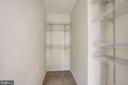 Master bedroom Walk-in closet - 20387 BIRCHMERE TER, ASHBURN