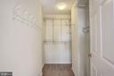 Second walk-in closet - 20387 BIRCHMERE TER, ASHBURN