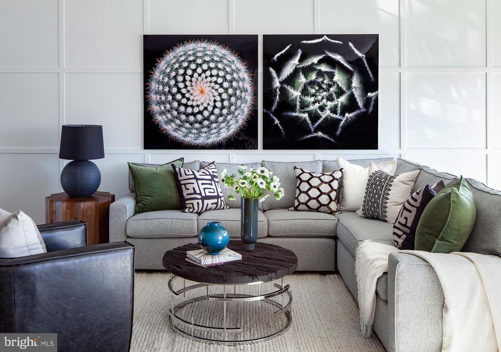 Worthington Living Room - 23275 MILLTOWN KNOLL SQ #115, ASHBURN