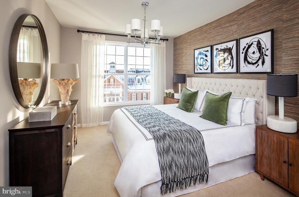 Worthington Master Bedroom - 23275 MILLTOWN KNOLL SQ #115, ASHBURN