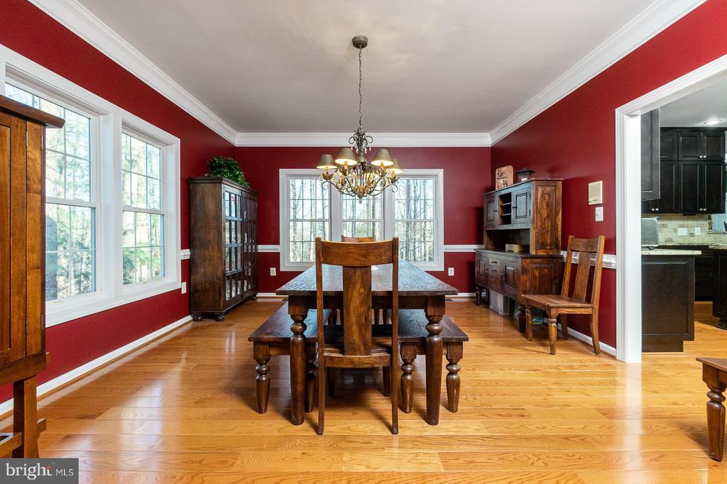 Oversized Formal Dining Room - 1515 JUDD CT, HERNDON