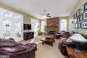 Wonderful Family Room off Kitchen - 1515 JUDD CT, HERNDON
