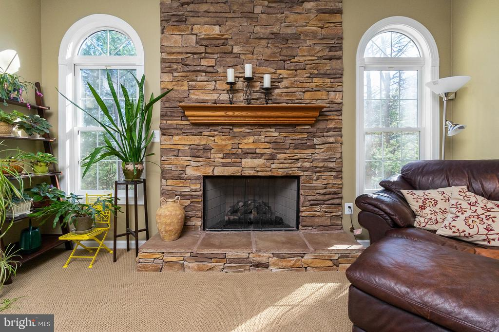 Three Gas Fireplaces located thru-out Home - 1515 JUDD CT, HERNDON