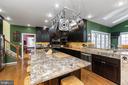 Oversized Center Island & Granite Countertops - 1515 JUDD CT, HERNDON