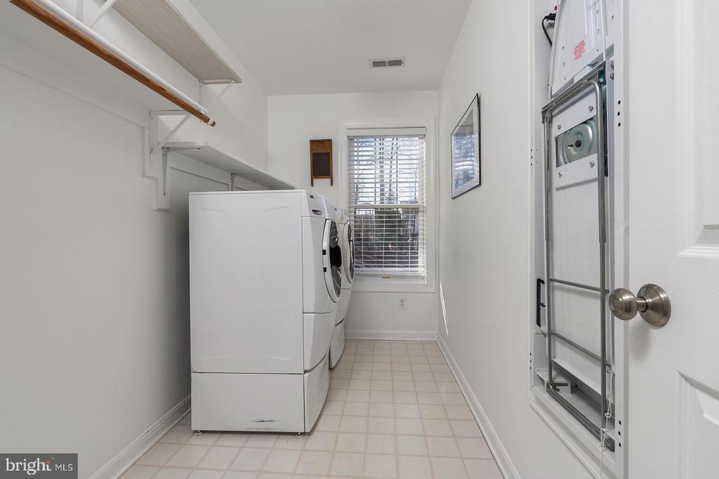 Upper Level Laundry Room-2nd Laundry on Lower Lvl - 1515 JUDD CT, HERNDON